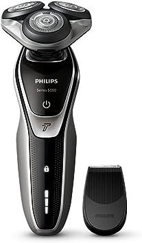 Philips S5320/06 - Afeitadora eléctrica, uso en seco, con recortador de precisión SmartClick y tapa protectora del cabezal, color plata: Amazon.es: Salud y cuidado personal