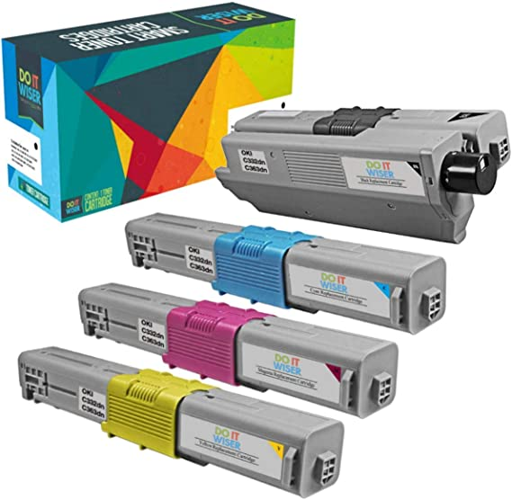 On-Site Laser Compatible Toner Replacement for Oki-Okidata 43324475 Magenta C2032 MFP Works with: C2032