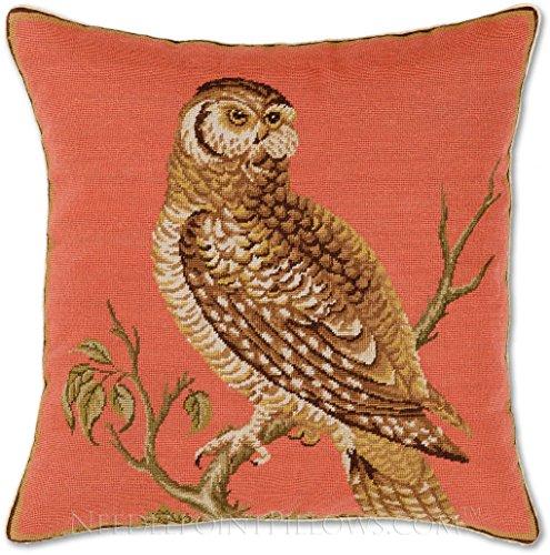 Needlepoint Pillows Birds - 2