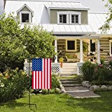 Garden Flag Stand, Premium Garden Flag Pole
