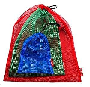 Rough Enough Mesh Bag Multi-purpose with Stopper SET