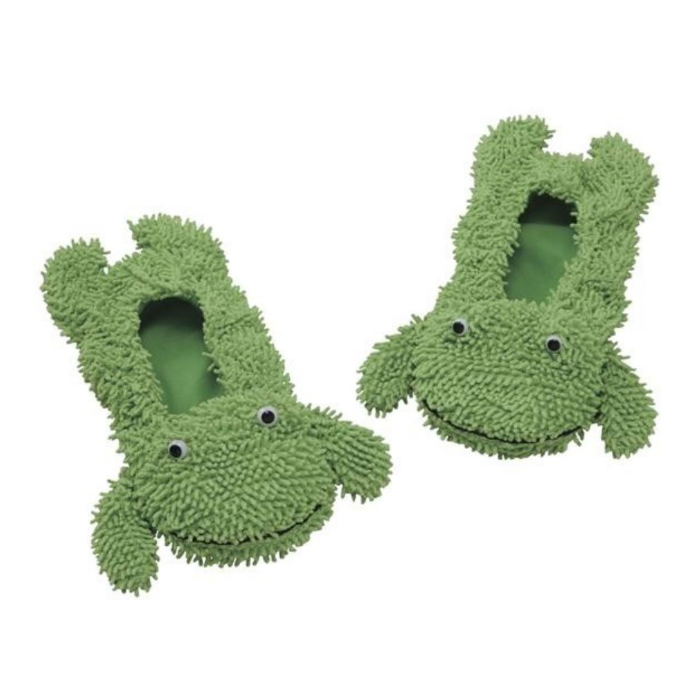 Comolife 2 Way Flooring Wipe Lovely Animal Cleaning Mop , Frog : Washable Easy Clean