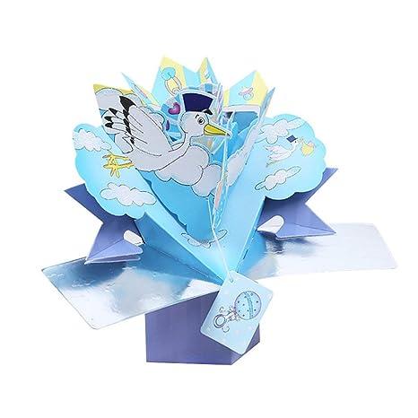 Amazon.com: Tarjeta de felicitación de cumpleaños 3D con ...