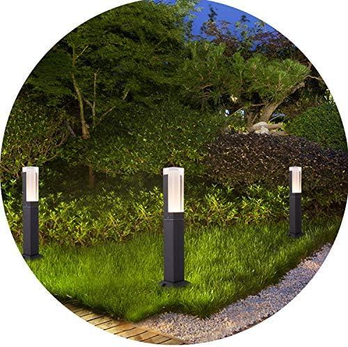 Luce Lampada Luci da giardino Palo in Acciaio Inossidabile Giardino Lampada