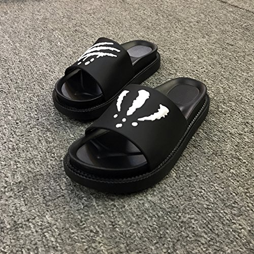 bottom anti cool couples slippers thick summer slip wearing 38 female creative indoor fashion Personalized White soft fankou wear men's slippers OZXwxf8pfq