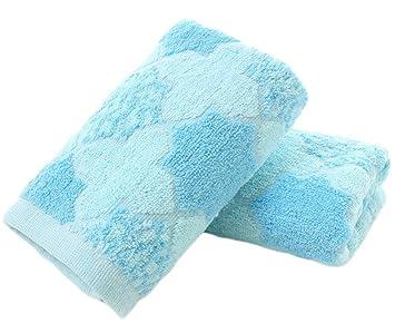 Wa Toallas Limpias Textiles de Baño Toallas de Mano Toallas de Baño Toallas Faciales Peluquería Salón de Belleza Toalla Lavadora Toalla de Playa: Amazon.es: ...