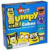 Lumpy Cubes Family Board Game – Hero Edition – Teacher Created Quick Stacking, Pattern Matching Fun with Emoji-like Faces and Picture Cards for All Ages, Kids and Adults 6 Years and Up
