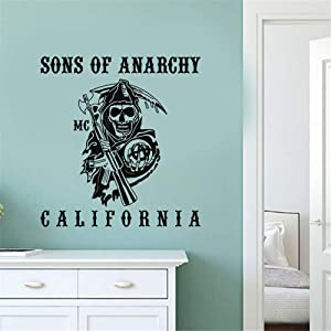Sons of Anarchy Reaper Wall Decal sons of Anarchy Reaper Wall Stickers for Boys Room