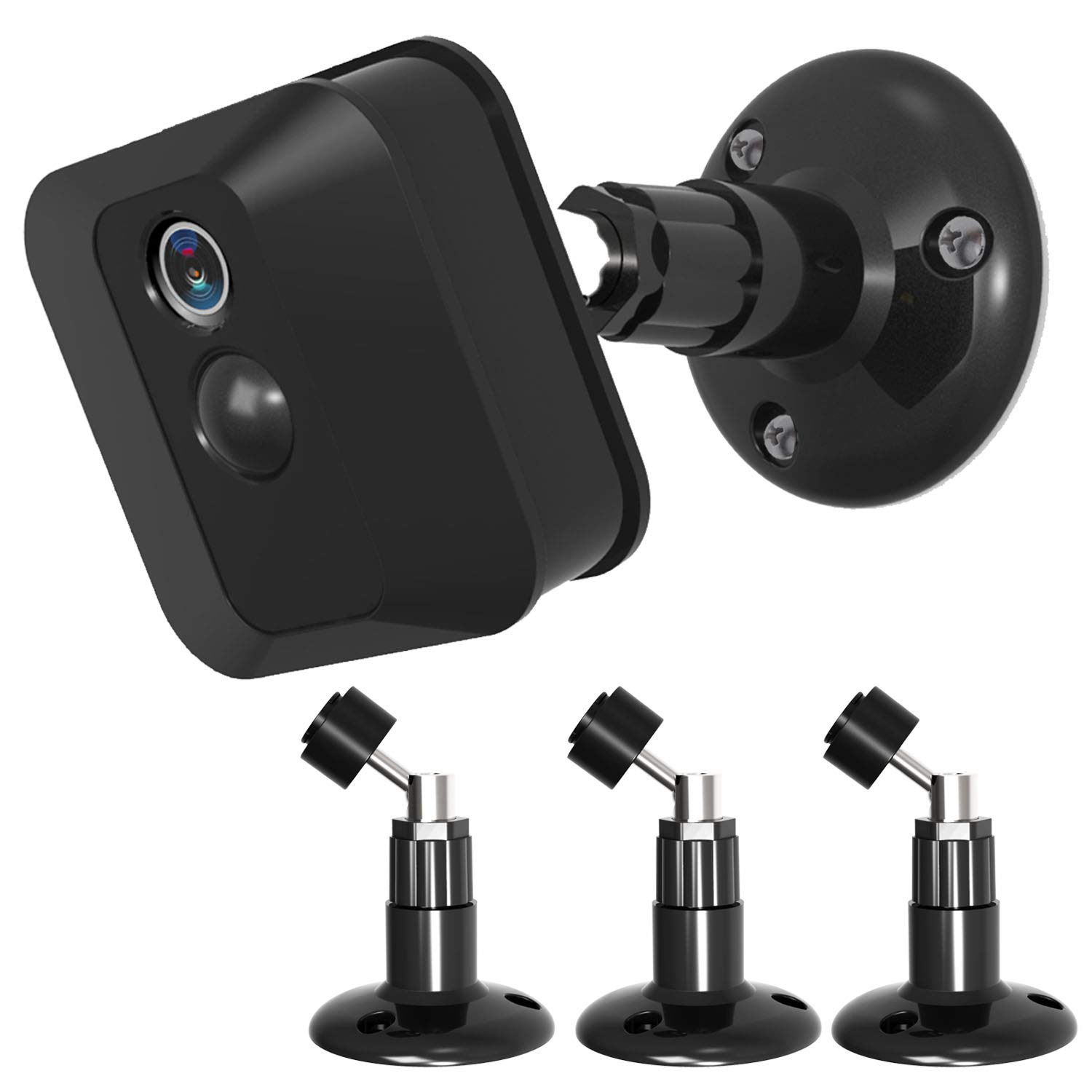 Blink XT Blink XT2 Camera Wall Mount,360 Degree Protective Adjustable Indoor Outdoor Mount for Blink XT Outdoor Camera Security System(Black)-3PACK by Quarble