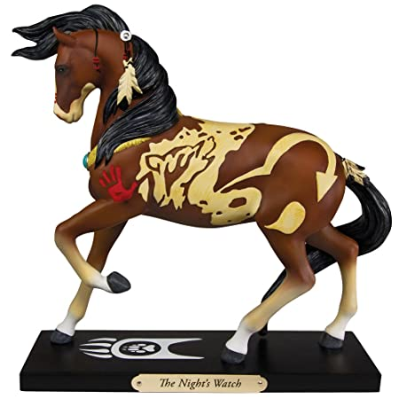 Enesco Unisex Trail of Painted Ponies The Night s Watch Statue No Color One Size