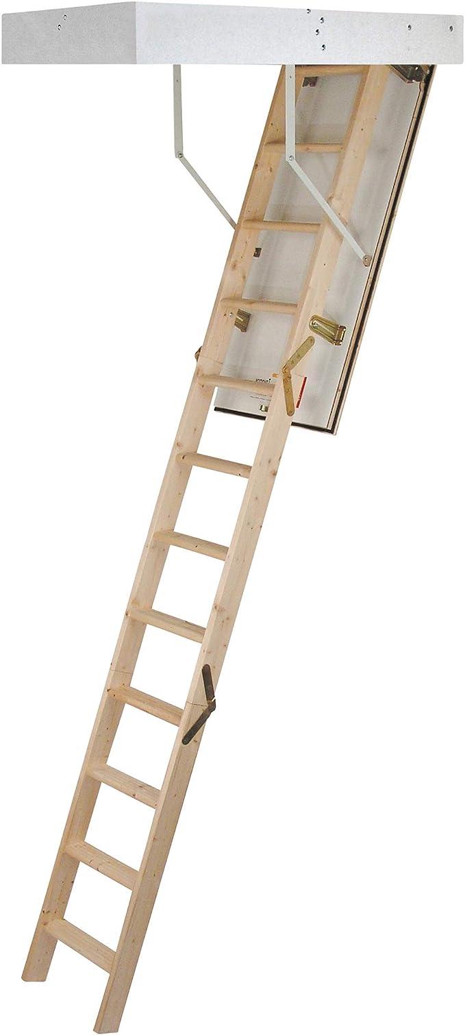 Laddaway 1530-000 - Escalera para áticos (tamaño: 2.85m): Amazon.es: Bricolaje y herramientas