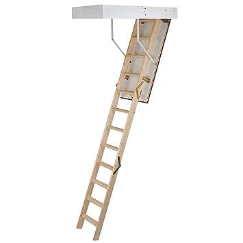 Häufig Laddaway EuroFold Dachboden-Leiter-Set aus Holz, mit isolierter OZ83