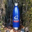 Wild Wolf Outfitters - #1 Best Insulated Water Bottle, holds 25oz. Keep Your Drinking Water Cold up to 36 Hours and Hot Beverage Warm up to 12 Hours. Military Grade Stainless Steel Water Bottle.