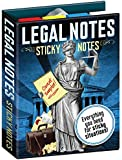 Legal Notes Sticky Notes Booklet - By The Unemployed Philosophers Guild