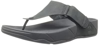 df53199b9 Fitflop Men s Track II Flip Flop Black Size  9 UK  Amazon.co.uk ...
