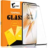 AVIDET for OnePlus 8 Pro Screen Protector, HD Tempered Glass [Anti-Scratch][Case Friendly] 9H Hardness 3D Full Coverage Compatible for OnePlus 8 Pro (Black)