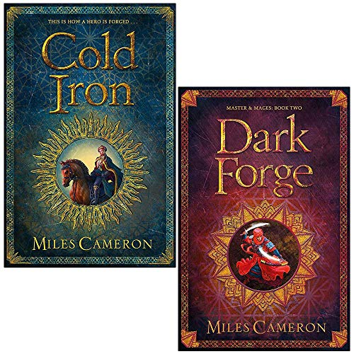 Masters and Mages Series 2 Books Collection Set By Miles Cameron (Cold Iron, Dark Forge)