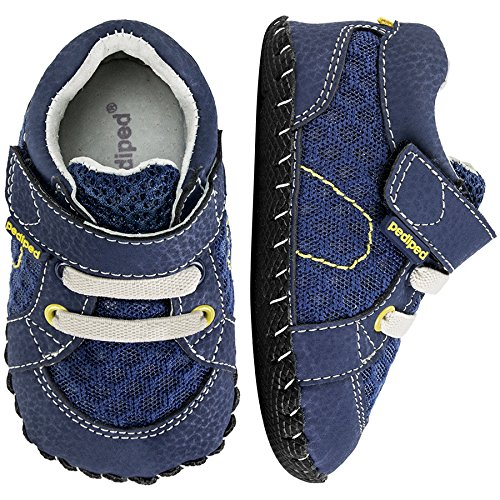pediped Originals Dani Blue/Lime (Infant) Baby Shoe
