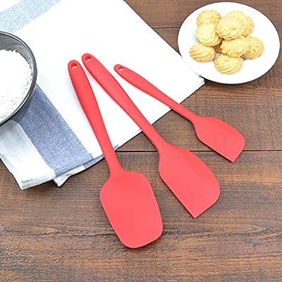 Accessoires de cuisine ZXY ZXY outils. le gel de silice scrapers pelles trois séries gâteaux crème spatule mélange couteau costume à la chaleur grattoir,de gueules