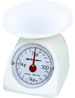 Orbegozo PC 1015 1015-Peso de Cocina mecánico, plástico, Color blanco