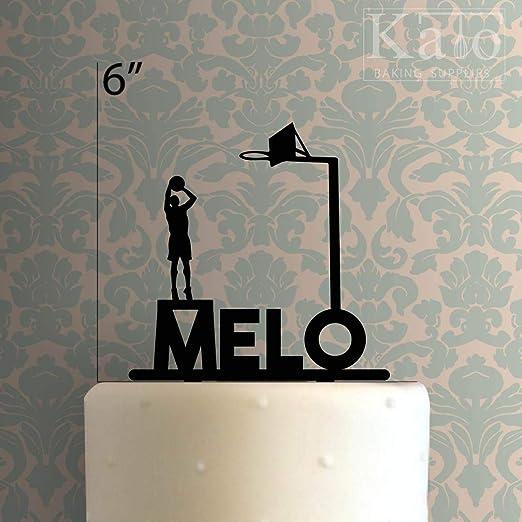 Decoración personalizada para tarta de baloncesto para ...