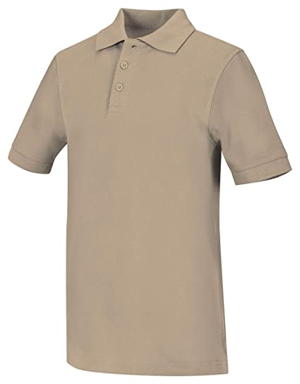 37e42f4f Amazon.com: Classroom Big Boys' Uniform Pique Short Sleeve Polo: Polo Shirts:  Clothing