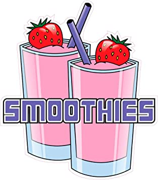 Strawberry Milkshakes DECAL CHOOSE YOUR SIZE Food Truck Concession Sticker