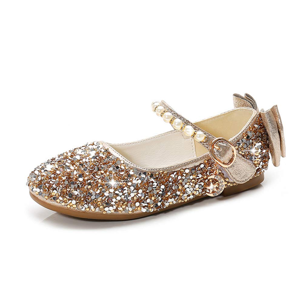 ZWEILI Rhinestone Crystal Soft Bottom Flat Shoes Princess Shoes