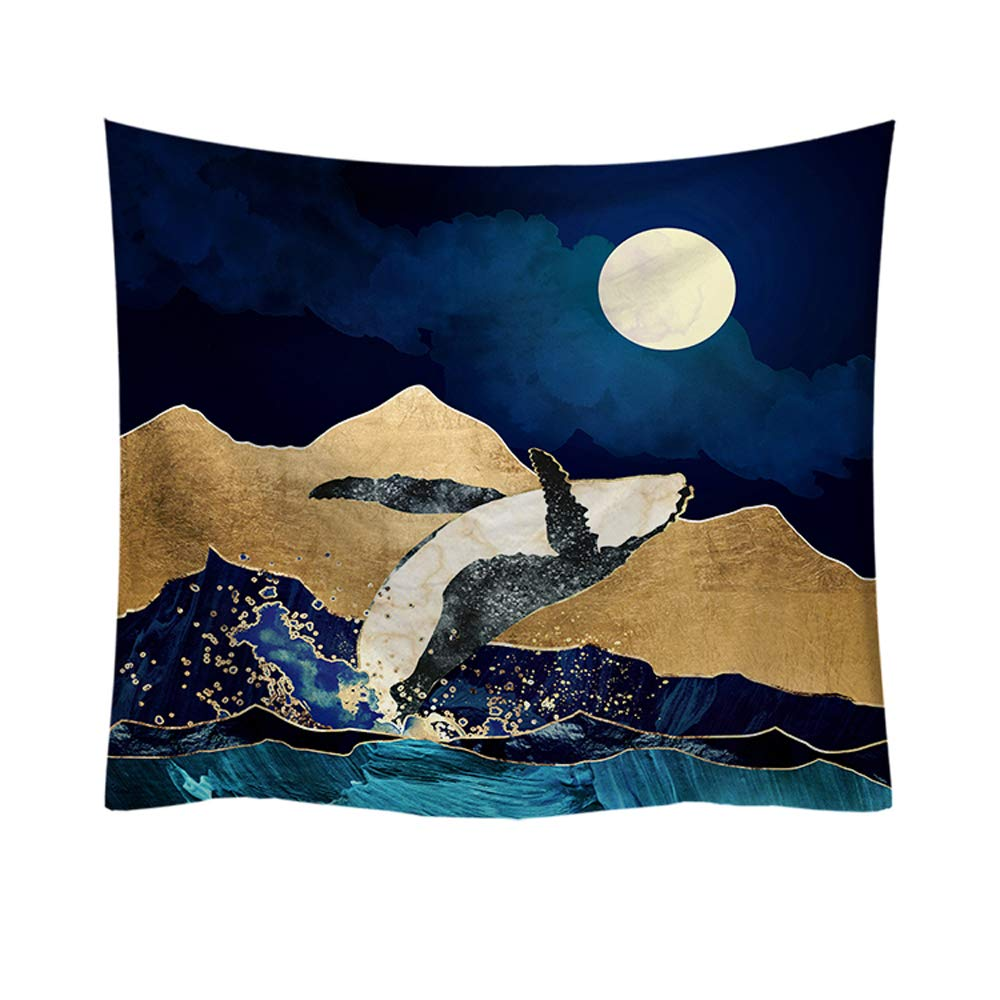 S-Chanson Oriental Tradicional Paisaje Tapices Decorativos Arabes Tapiz de Pared Grande para Ropa de Playa Tela de Picnic Manteles Pattern 1, 150 x 130 cm