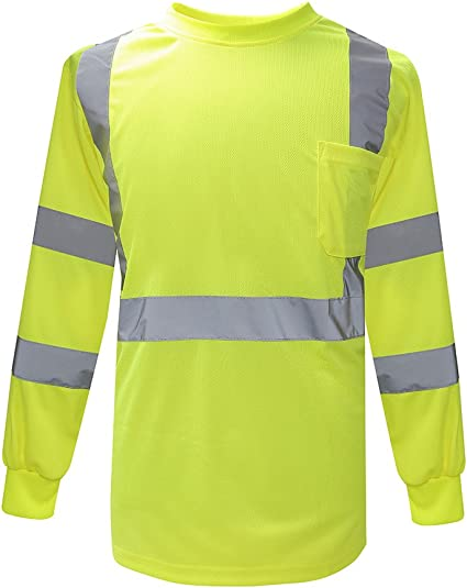 3 X HI VIS COOL BREEZE YELLOW//ORANGE LONG SLEEVE POLO WORK TRADIE SAFETY SHIRTS