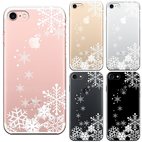 iPhone 7 Case Anti-Scratch Clear Back for iPhone 7 4.7 Inch Crystal of snow White (Snowboard Resin)