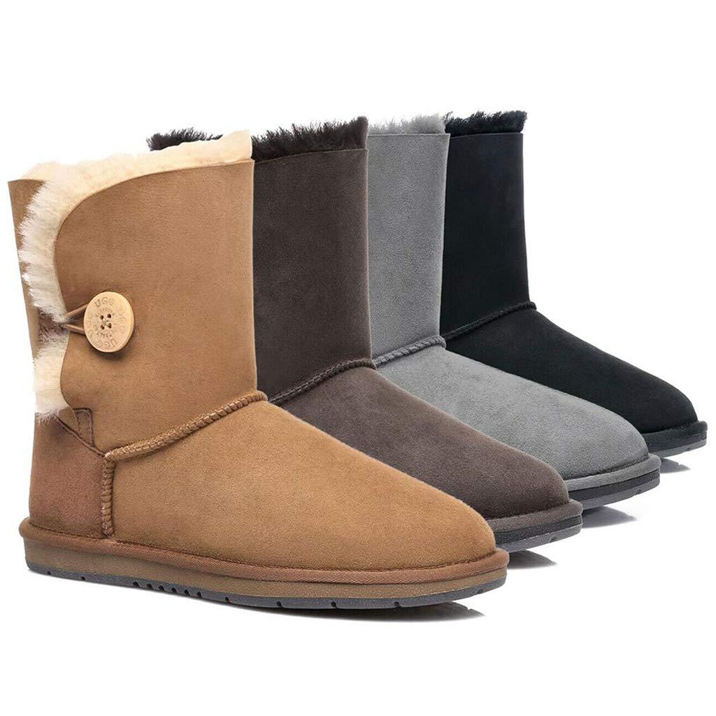 532cc03bece UGG Boots Short Button - Premium Australian Sheepskin, Water ...