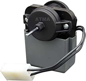 ATMA 2315539 Refrigerator Evaporator Fan Motor Compatible with Whirlpool Kenmore Refrigerator Replaces 2219689 2225625 W10438708 WP2315539VP AP6007247 PS11740359