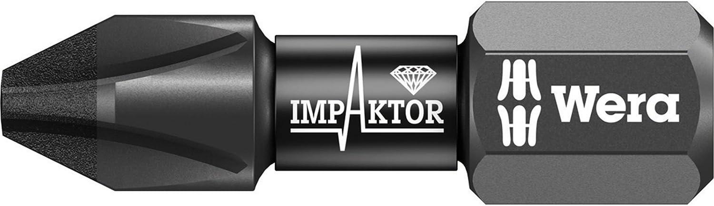 Precise Engineered Wera 851/1 Impaktor PH2 x 25 mm Phillips Bit [Pack de 10] [Especificación superior] – con 3 años de garantía Rescu3®: Amazon.es: Bricolaje y herramientas