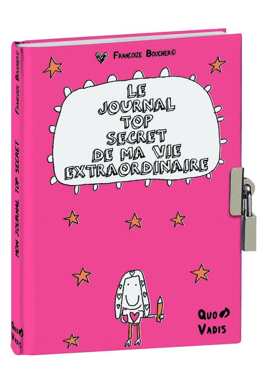 Quo Vadis Mega Heureux Journal Intime 12 x 17 cm 242068Q