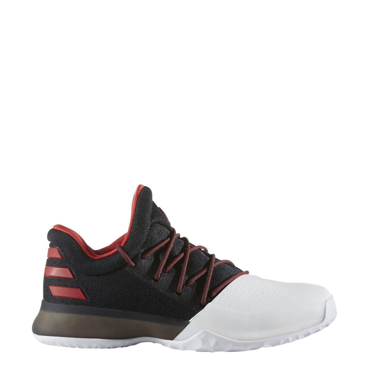 adidas Harden Vol. 1 Shoe - Core Black/Scarlet/Footwear White - Boys - 4.5