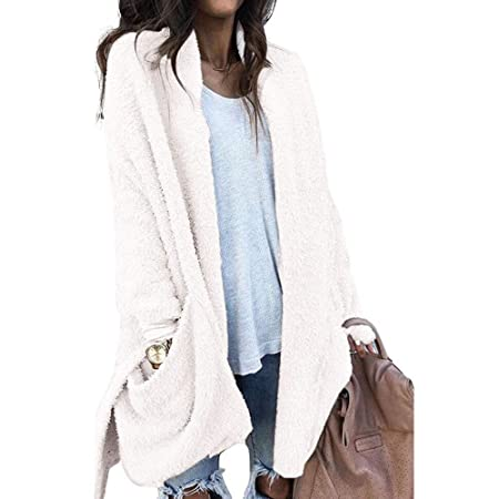 Amazon.com : Excellent Value On Sale! Besde Womens Autumn and Winter Fashion Faux Fur Winter Warm Plush Jacket Coat Flannel Coat : Beauty