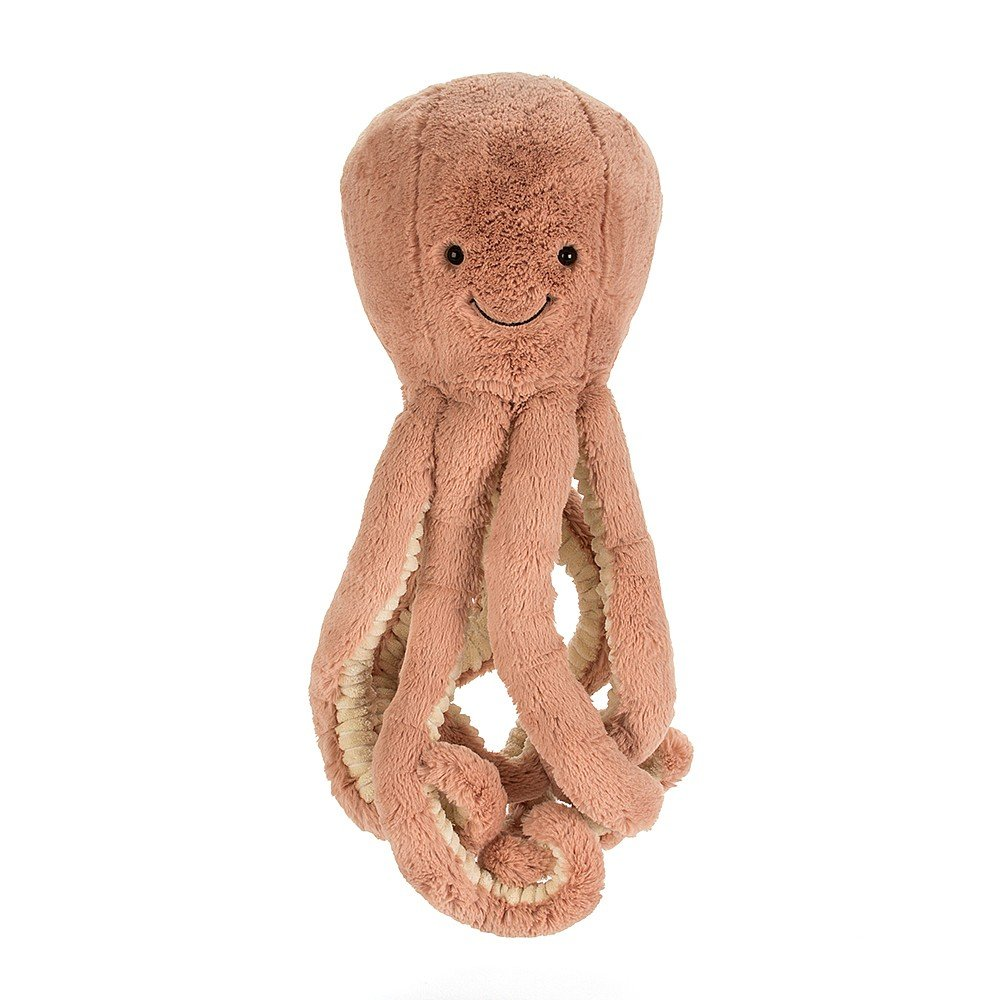 Large Jellycat Odell Octopus Stuffed Animal 22 inches