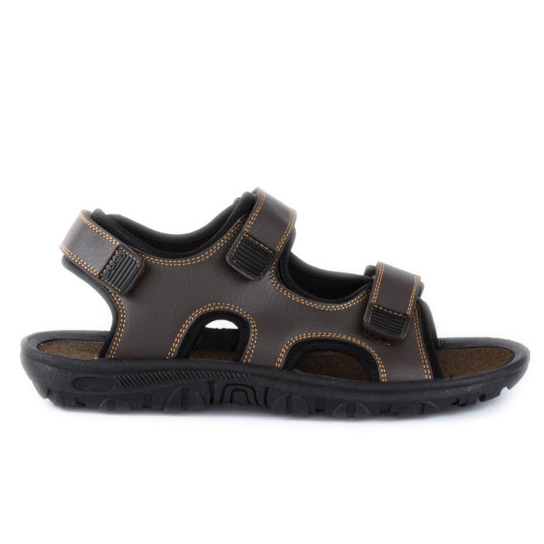Poisson Rouge pour homme Marron Touch Attache Sportif Sandale - marron -  marron, 45 EU: Amazon.fr: Chaussures et Sacs