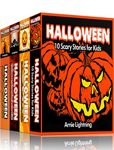 HALLOWEEN BOOK BUNDLE (4 Books in 1): Scary Stories for Kids and Halloween Jokes (Spooky Halloween Stories) -