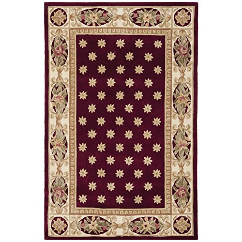 8' Naples Collection Rug (Safavieh Naples Collection NA610C Handmade Multicolored Wool Area Rug, 5 feet by 8 feet (5' x 8'))
