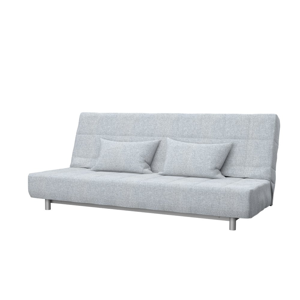Soferia - Bezug fur IKEA BEDDINGE 3-er Bettsofa, Naturel Light Grau