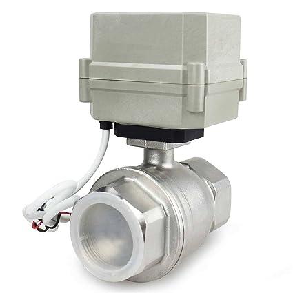 amazon com hsh flo motorized ball valve 1 1 2\