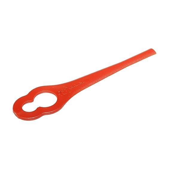 First4Spares - 60 unidades de cuchillas para cortacésped para la mayoría de BOSCH, MacAllister, CMI, Einhell, Lidl y LawnMaster cortadoras de césped: ...
