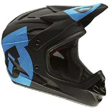 Desconocido 661 Comp - Casco integral para moto azul negro y azul Talla:large