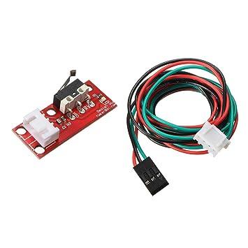 Interruptor de Fin de Carrera+Cable para Impresora 3d Reprap Cnc ...
