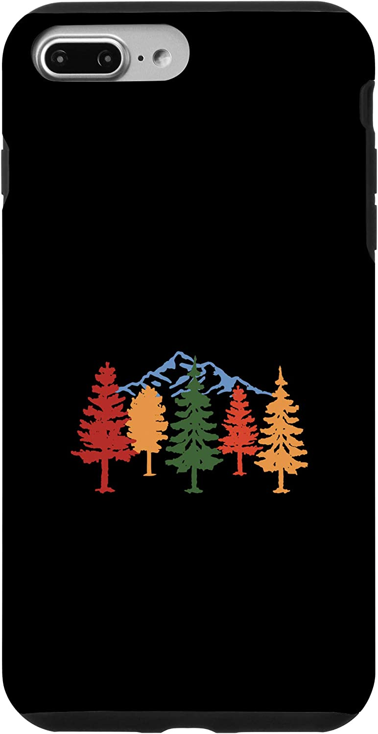 iPhone 7 Plus/8 Plus Fall Colors Changing Trees Autumn Nature Scene With Mountain Case