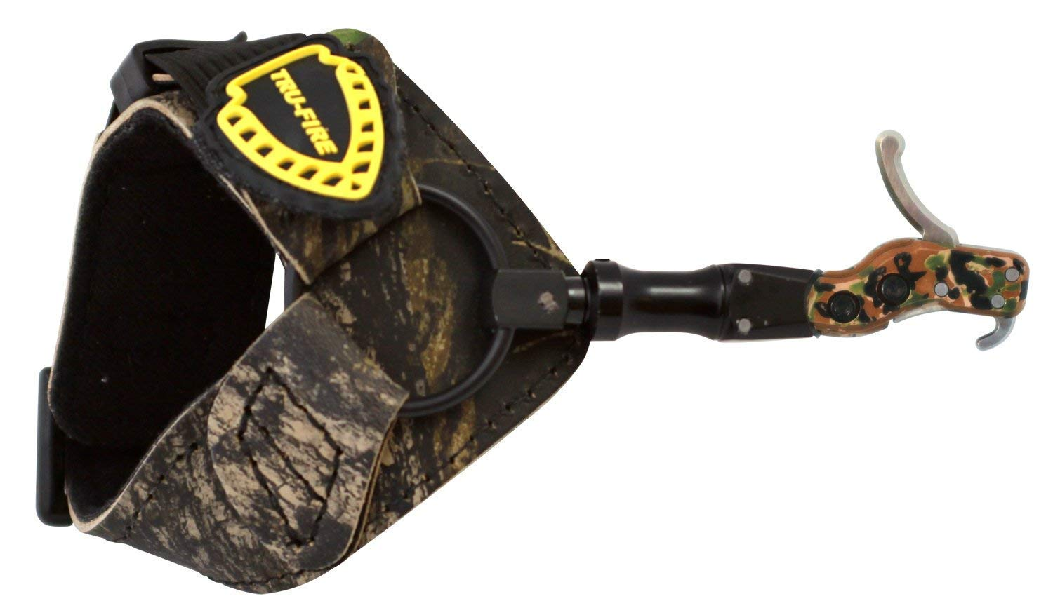 TruFire Hardcore Buckle Foldback Adjustable Archery Compound Bow Release - Camo Wrist Strap with Foldback Design (Pack of 5)