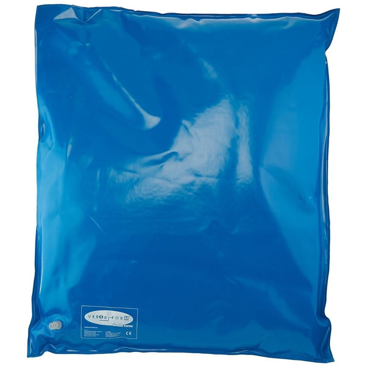 Sammons Preston Versa Form Plus Positioning Pillow, Blue, 22'' by 34'', Bed Pillow Provides Support & Postural Correction, Cushion with Beads Conform to Body, Posture Pillow Reduces Back & Hip Pain by Sammons Preston