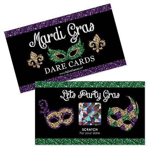 Mardis Gras Card - 6